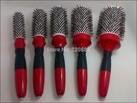 Ceramic  Hair Brush Antistatic  Ovenproof Round Hair Brush GIC-HB507 Free Shipping