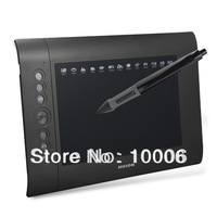 "HUION H580 10"" Art Graphics Drawing Tablet with Wireless Digital Pen Black for Windows Mac PC Wholesale, free shipping #160772"