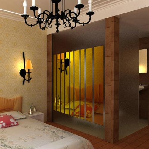 caliente de acrílico 3d tira de espejo de la pared arte mejor pegatinas pegatinas de pared del dormitorio de la novedad de regalo de navidad etiqueta de la pared decoración de hogar