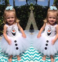 2014 new arrive Frozen dress, girls dress, children's cartoon evening dresses. European and American fashion condole belt dress