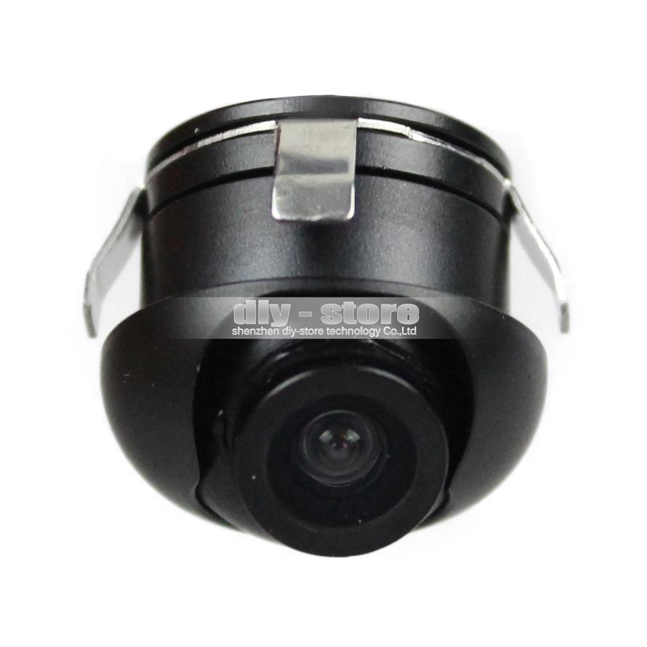 360 Ccd Car Vehicle Rear View Side / Front Camera Back Up Mini Car Camera Free Shipping(China (Mainland))