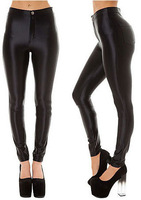 3.25 BIG SALES wholesale Europe Night singer sexy disco pants black / tight high waist disco pants / 9 colors free shipping