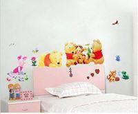 for children room wall sticker, kindergarten  In the Night Garden  wall sticker ,size 34*68CM