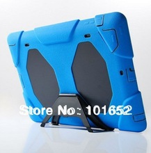 Military Surviver Stand Clip Cover Defender Case water dirt shock proof for iPad 2 3 4 free ship drop ship PF(China (Mainland))