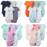 5pcs/lot, Original Carter's Baby Girls Loving Heart Model Bodysuit, Carters Girls Bodysuit , Freeshipping