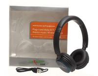 Free Shipping!ZL-900 Plug-card style,Hi-Fi,FM  Wireless Stereo Headphone,Heavy Bass