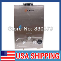 USA STOCK, 8L Brand New GAS LPG LCD Display Boiler Propane Tankless Stainless Hot Water Heater