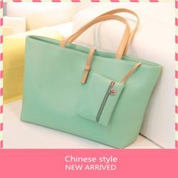 2013 spring candy color big bag trend vintage women's handbag messenger bag female bags