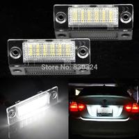 Error Free LED License Plate Light for Volkswagen VW Caddy/ Golf Plus/Jetta/Syncro/Passat 5D/Touran/Transporter/Skoda Superb