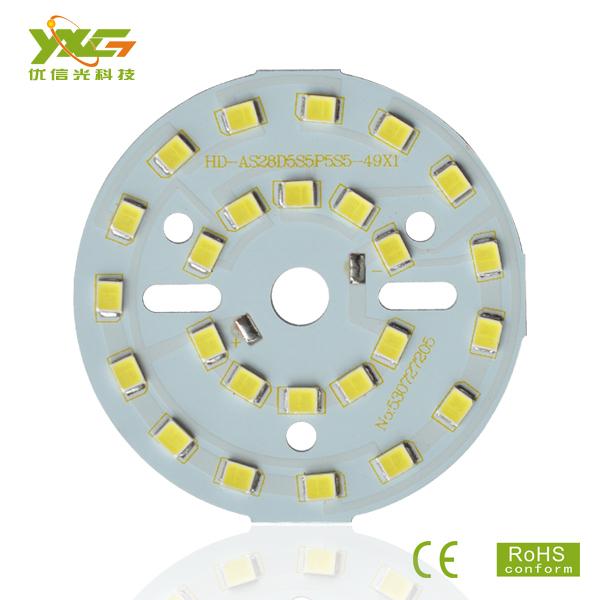 LED PCB Making factory 10pcs/lot 2835 SMD 5C5B 15V 5W PCB LED Board for Bulb Lamps and downlights wholesale Free shipping(China (Mainland))