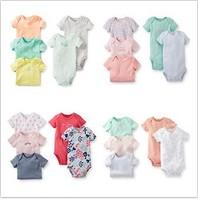 Retail, Carter's Original Baby Girls Short Sleeve  Bodysuit, Carter's Girls Jumpsuit, Freeshipping