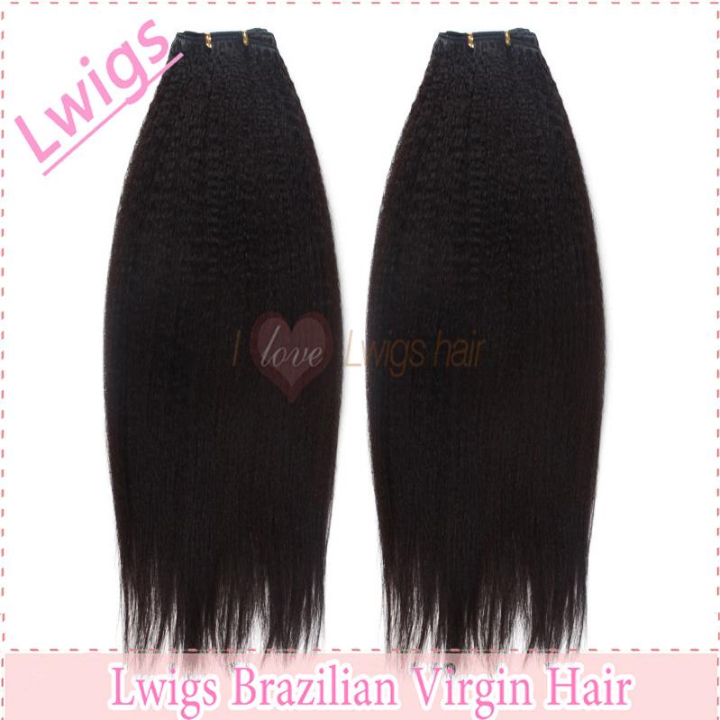 Human Hair Yaki Perm Bulk Braiding Choose Length 16 Quot 32 Quot Bu ...