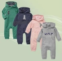 children clothes baby romper cute Infants boy girl hoodies long sleeve coveralls kids spring autumn.3pcs/lot