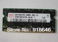 Free shipping Original Korea hynix 512MB/1GB/2GB/4GB/8GB 2RX8/1Rx8 PC2-6400s DDR2 800MHz Laptop Memory RAM/single-strip/In Stock
