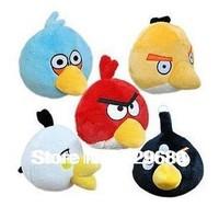 5 colors new 10pcs/lot birthday gift stuffed mini 5cm love birds plush toy Mobile phone pendant Plush animal baby dolls toys