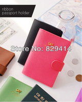 2013 Hot Sale Wholesales Passport Holders 4 Colors Card & ID Holders Prevent demagnetization Lady's Wallets Fashion Purse