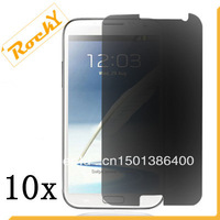 10X New CLEAR LCD Anti-Spy Privacy Screen Protector Guard Cover Film For Samsung Galaxy S3 III/ I9300(Free shipping)