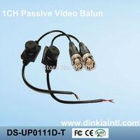 20pcs CCTV Security 1CH Passive Waterproof Video Balun Transceiver, BNC-M CCTV Video Balun passive Transceivers  DS-UP0111D-T