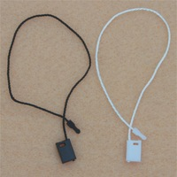 Free shipping (1000pcs/lot) garment accessories - customized ployester hang tag String Seal/String Buckle/Cords Buckle