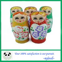 Free shipping Handmade I Miss You  Wooden Nesting Dolls,lovely Russian dolls, Wood Matryoshka, 5 Lays(5pcs in one set)