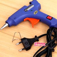 110V&220V Hot Melt Glue Stick Gun Blue applicator for Crafts Repair Tool  without Glue Sticks DIY tools parts accessories