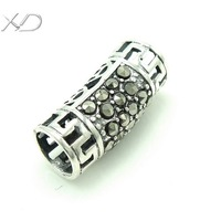 XD KM371/KM378 925 sterling silver tube jewelry for DIY necklace and bracelet