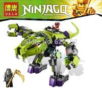 Bela Ninja L9455 Ninjago Fangs Python Mechanical 9755 Building Block Sets Educational Jigsaw Construction Bricks toys