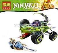 BELA 9760 451pcs DIY Ninjago Phantom Ninja minifigures Fangpyre Truck Ambush building block sets eductional Jigsaw children toys