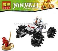 Free shipping Phantom Ninja series Thunder Swordsman car Ninjago Minifigures toys building block sets toy eductional kids toys