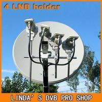 Good quality LNB Bracket, LNB holder ,hold up to 4 ku band LNB free shipping !
