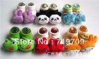 Wholesale Cute animal design knitted baby socks , infant baby anti-slip socks ,0-12M kids home socks,10pairs/lot ((BBX-138))