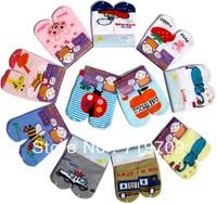 Wholesale New arrival hot-selling 100% cotton children socks slip-resistant small kid's socks baby floor socks BBW-134