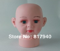 HOT SALE!mannequin dummy head,Realistic Plastic child mannequin head ,mannequins display,mannequins kids