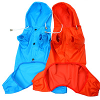 Small dogs fashion raincoat waterproof dog raincoat teddy raincoat pet dog clothes