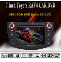 2007-2011 Toyota RAV4 Car Head Unit / Special Car DVD Player / GPS Navi / RDS / Radio / RDS / AUX / HD 1080P Video Playing