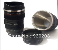 Camera Lens Mug Cup 5th Generation USM Lens Shape Stanless Steel Vacuum Cup Free Shipping