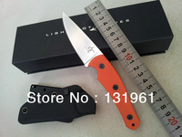 TOP Quality! Lightfoot Hunting Survival Fixed Knives,D2 Blade G10 Handle Steel Color Outdoor Camping Knife.
