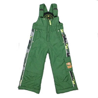 free shipping fashion boys and girls cotton ski pants children 3 colors wholesale and retail