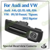 Free shipping! HD Rear View car reverse camera for AUDI A4L,A8L,S5, Q5,RS6,VW passat,gutian,Sigatar auto camera CCD night vision