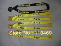 Custom medal lanyard Custom Medal Ribbon Lanyard Costom medal strap customized medal neck lanyard+free shipping