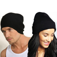 New Fashion UNISEX Chic Baggy Oversized BEANIE Slouchy Cap Hat SIMM free shipping