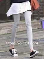 Fashion colors cropped leggings pants, female spring and autumn candy color modal elastic capri pants, ankle length pants