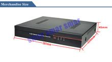 CCTV 700TVL 8ch h 264 Full D1 DVR Recorder 8 channel 960H WD1 HD Network 1080P