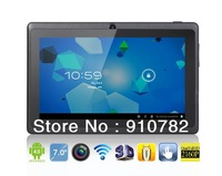 "q88 boxchip,ALLWinner A13,Q88 7.0"" Android 4.0;512MB/4GB, 5 points touch capacitiive touch.Tablet PC"