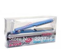 Hair Straightener Pro Nano Titanium ceramic heaters hair straightening iron 1 3/4'' Plate Width 450F