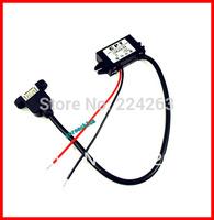 5pcs/LOT DC/ DC Adjustable Converter Buck Step Down Module 12V to 5V 3A 15W,5V usb output power adapt