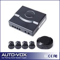 Car parking sensor kits 4 sensors reverse backup reversing radar system video-in 4 sensors black parking assistance