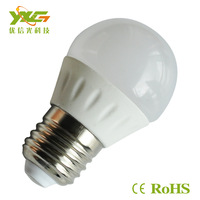 Wholesale  AC 110v 220v 3w e27 2835 smd ceramic led bulb for 3years warranty warm & cool white free shipping