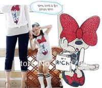 wholesale 5 pcs/lot 2013 Children Kids Clothing Girls Minnie Dresses Summer Wear Sleeveless Best Selling AA5164 GQ-232