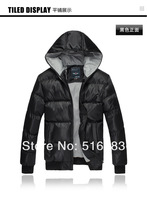 2013 Free shipping Winter brand new men outdoor sports coat fashion thickening Cotton-padded clothes jacket men Down Parkas